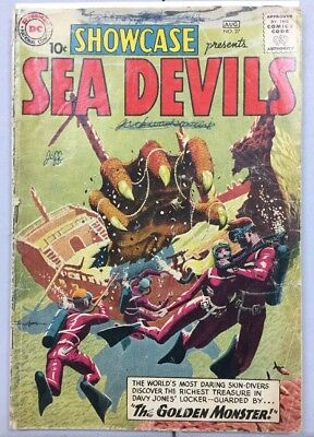 DC Showcase Presents Sea Devils #27 1st Appearance Good 2.0 Condition Complete