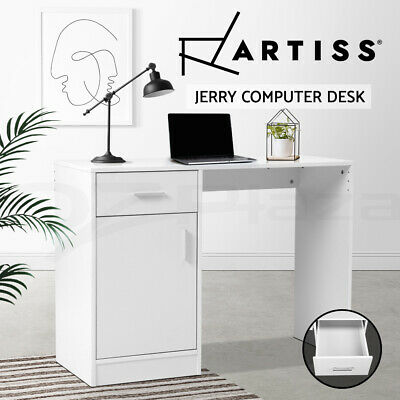 Artiss Office Computer Desk Study Table Storage Cabinet PC Laptop Student Home