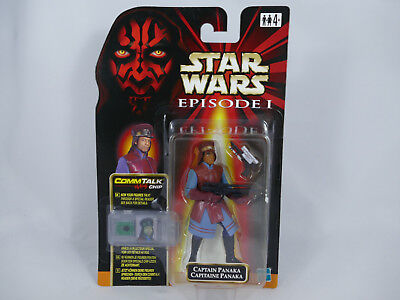 Es2 Star Wars Episode 1 Captain Panaka European Card Moc
