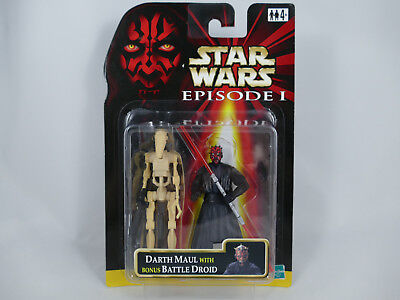 Es2 Star Wars Episode 1 Darth Maul Jedi Duel Bonus Battle Droid Double Pack Moc