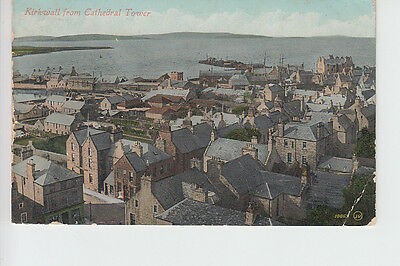 Kirkwall from Cathedral Tower, Orkney