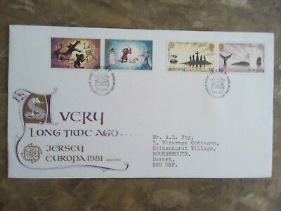 Jersey 1981 Europa - Folklore, First Day Cover