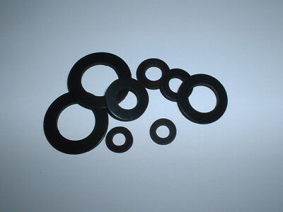 2Mm Thick Viton A High Temp Fkm Rubber Washer Seal For Diesel Petrol Fuel Oil