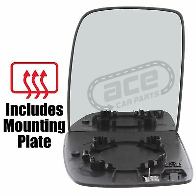 Fiat Scudo Van 2007-12//2016 Non-Heated Convex Single Mirror Glass Drivers Side