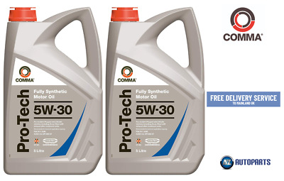 Genuine Comma Performance Motor Oil Pro-Tech 5W-30 Fully Synthetic 10L (5L X 2)