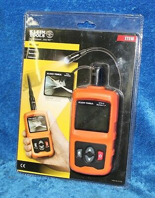 Klein Tools Borescope ET510 24 Bit Color Display Resolution 480 x 23 PX
