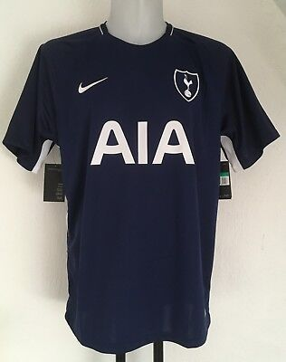 Tottenham Hotspur 2017/18 S/s Away Shirt By Nike Size Adults Xl Brand New