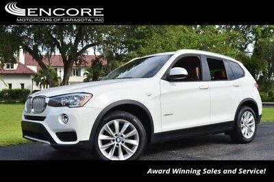 X3 xDrive28i AWD SUV W/Technology and  Premium Packag 2016 BMW X3 xDrive28i AWD SUV W/Technology and  Premium Packag 26,913 Miles  FRE