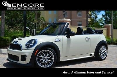 Cooper S W/Navigation and JCW Interior/Exterior Packages 2015 MINI Cooper S Convertible W/Navigation and JCW Interior/Exterior Packages 2