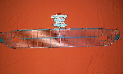 1957 Chevy Silver 210 Grill Made In USA Sedan Nomad Convertable Hardtop Wagon