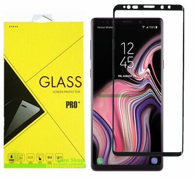 3D Curved Full Cover Tempered Glass Screen Protector For Samsung Galaxy Note 9