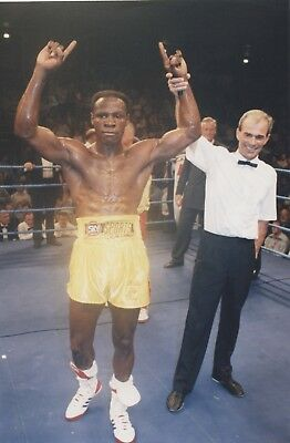 CHRIS EUBANK original 10x6in BOXING press photo dated 29th July 1995