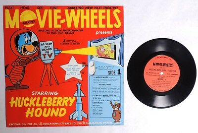 ESZ7668. MOVIE-WHEELS Huckleberry Hound/Yogi Bear Educational Record (1960)