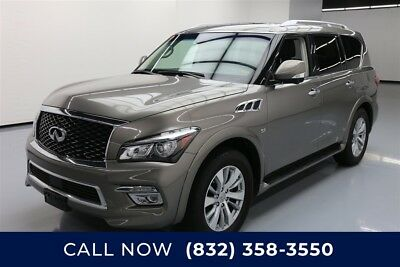 Infiniti QX80 4dr SUV Texas Direct Auto 2017 4dr SUV Used 5.6L V8 32V Automatic RWD SUV Moonroof Bose