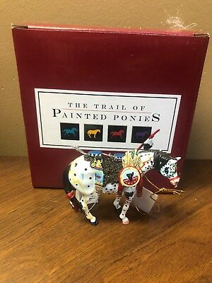 Trail of Painted Ponies War Pony Ornament - RETIRED-1st Herd  HTF