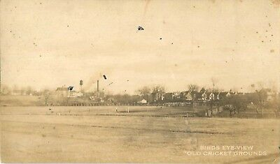 1922 The Old Cricket Grounds, Thornton, Rhode Island Real Photo Postcard/RPPC