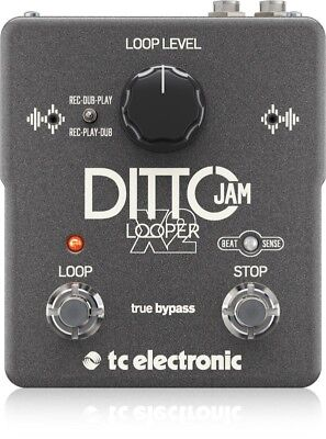 TC Electronic Ditto Jam X2 Looper Guitar Pedal  - Ships FREE Lowe 48 States!