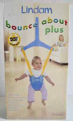LINDAM BABY DOOR BOUNCE ABOUT PLUS (SIMPLE ASSEMBLY) MAX WEIGHT 12kg *NEW IN BOX