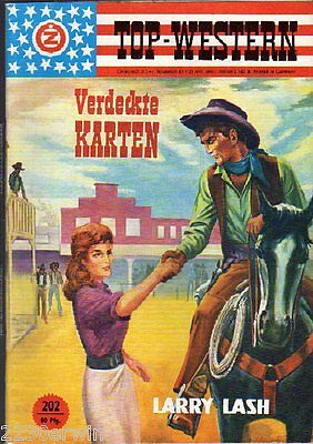 TOP WESTERN EXPRESS 202 / Larry Lash (1962-1975 Indra-Verlag)