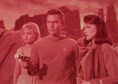 """RARE 1964~STAR TREK """"THE CAGE""""~PIKE NUMBER ONE~35mm FILM CLIP/SLIDE~LOT 2415"""