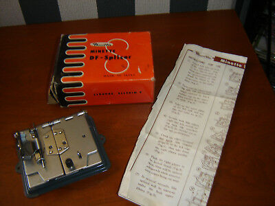 Vintage Minette Df Splicer With Original Box And Literature