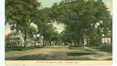 Westfield,massachusetts-Court St. From Day Ave East-Pm1908-(Mass-W)