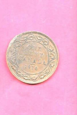 Canada Canadian Km21 1916 Ag-Nice Old Antique Bronze Vintage Large Cent Coin