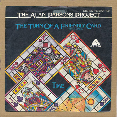 "7"" Single - The Alan Parsons Project, The Turn Of A Friendly Card"