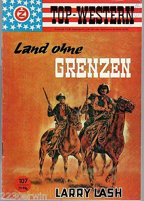 TOP WESTERN EXPRESS 107 / Larry Lash (1962-1975 Indra-Verlag)