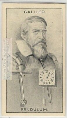 Galileo Galilei Italian Astronomer Philosopher Scientist 90+ Y/O Trade Card