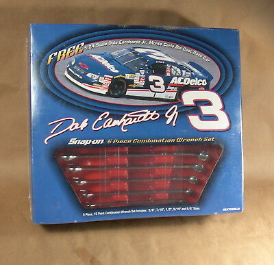 Dale Earnhardt Jr. Snap On Tools 5- Pc Wrench Set w/ 1:24 #3 11998 Monte Carlo M