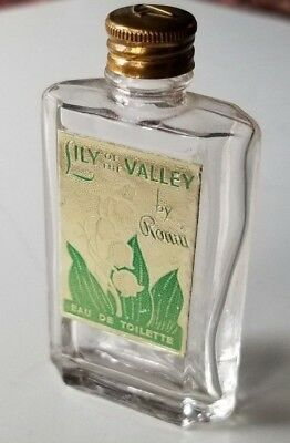 Vintage Miniature Perfume LILY OF THE VALLEY by Ronni