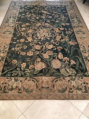 "beautiful Italian wall tapestry 5'-11""x 9', hand finished, designer selected"