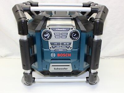 Bosch PB360S 18-Volt Lithium-Ion Power Box Jobsite Radio and Charger PowerBox NR