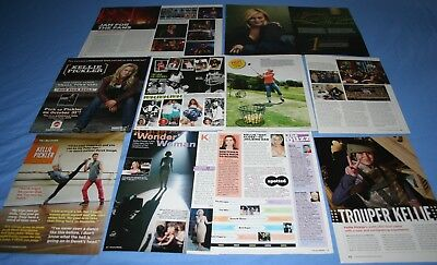 HUGE LOT of 12+ KELLIE PICKLER Magazine Article Photo Clippings