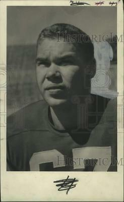 1950 Press Photo Bob Kennedy, Football Player Recruited by the Green Bay Packers