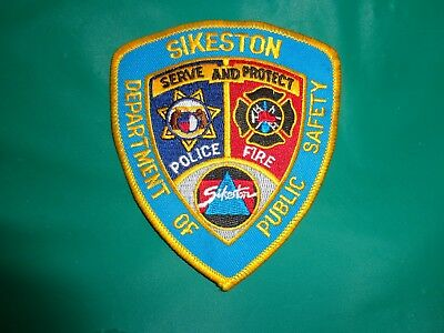 Sikeston Department of Public Safety Patch