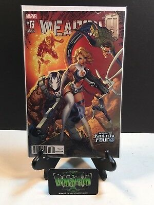 Marvel WEAPON H #6 J Scott Campbell Return of the Fantastic Four Variant NM