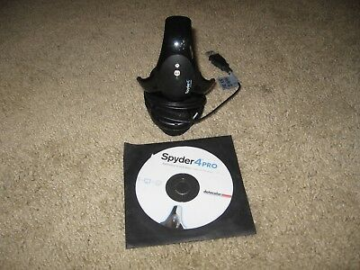 spyder 4 pro Monitor calibration by data color excellent condition.