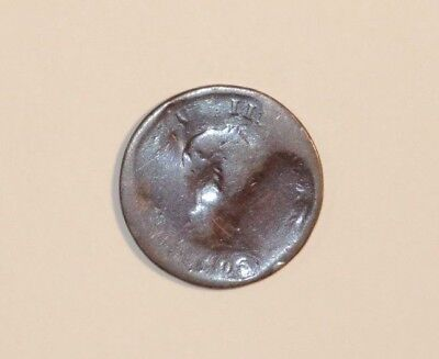 Nice 1806 Dated George Iii Copper Penny Coin
