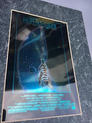 ChromArt Collector Edition STAR WARS RETURN OF THE JEDI..w Cert of Authenticity,