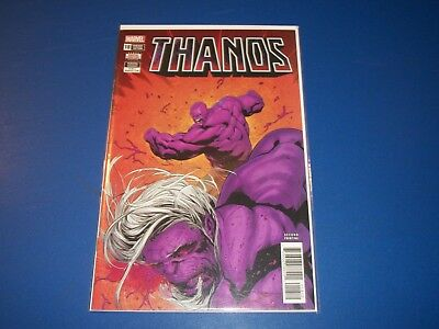 Thanos #18 2nd print variant NM Gem Wow Cosmic Ghost Rider
