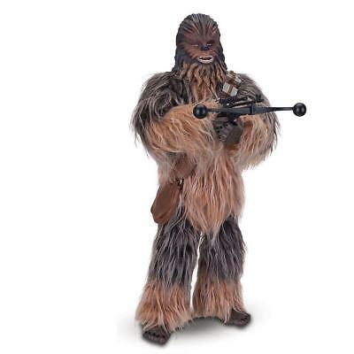 """STARS WARS  Interactive, animatronic CHEWBACCA  17"""" tall  Get the best Chewy!"""