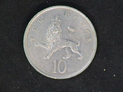 1975  English 10 New Pence Coin