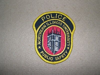 Police Northern Illinois University Public Safety O/s