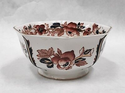 "Small Enoch Wedgewood Tunstall Ltd. Old Castle Bowl 4 1/2"" x 2 1/4"" floral china"