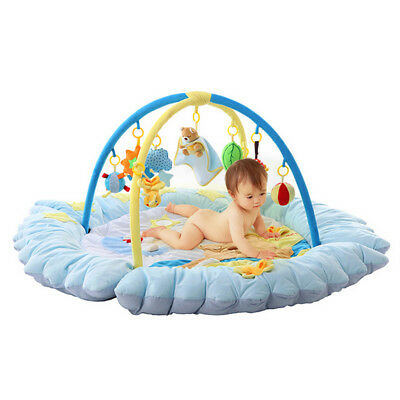 A47 Beer Baby Fitness Bodybuilding Frame Velvet Cotton Play Mat Activity Gym A