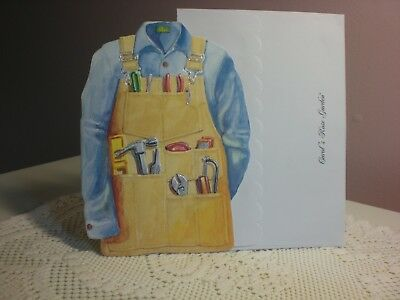 Carol's Rose Garden - Blank - An handmans apron on the front