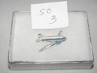 Southern Airlines Dc-3 Airplane Lapel Tack Pin Nwa Delta Pilot Gift