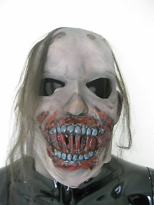 Decayed Rotting Zombie Walking Dead Full Head Adult Halloween Latex Mask